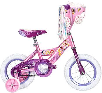 Huffy 12 Inch Bike Girls Disney Princess With Carriage Huffy