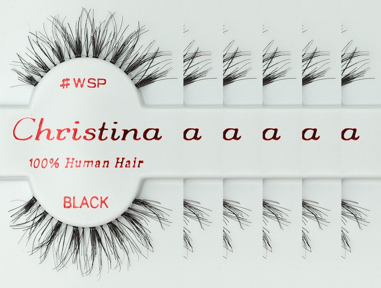 Amazon 6packs Eyelashes Wsp By Christina Beauty