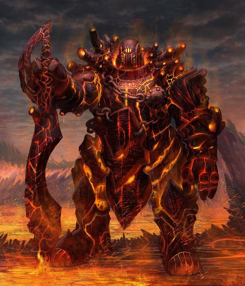Fire Giant By Jacob Atienza jubjubjedi Chains Of Durandal