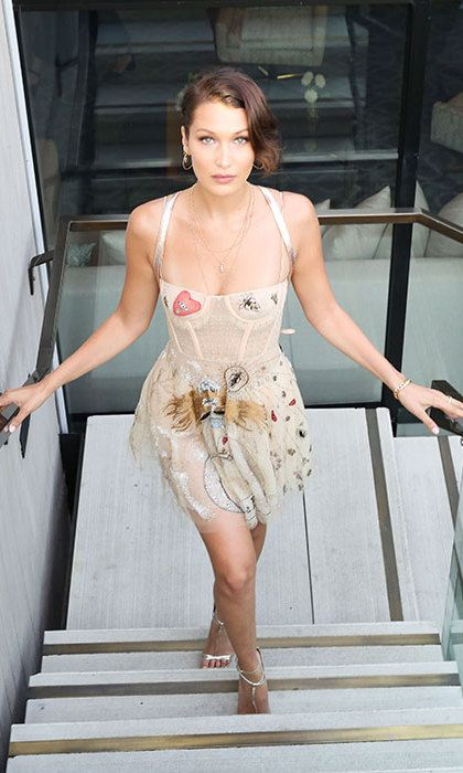 1ee12c43 Bella Hadid looks flawless at Dior launch party - HELLO! CANADA ...
