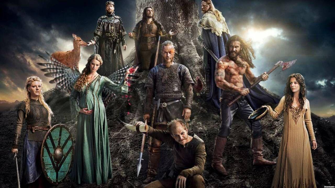 katheryn winnick vikings wallpaper - Google Search