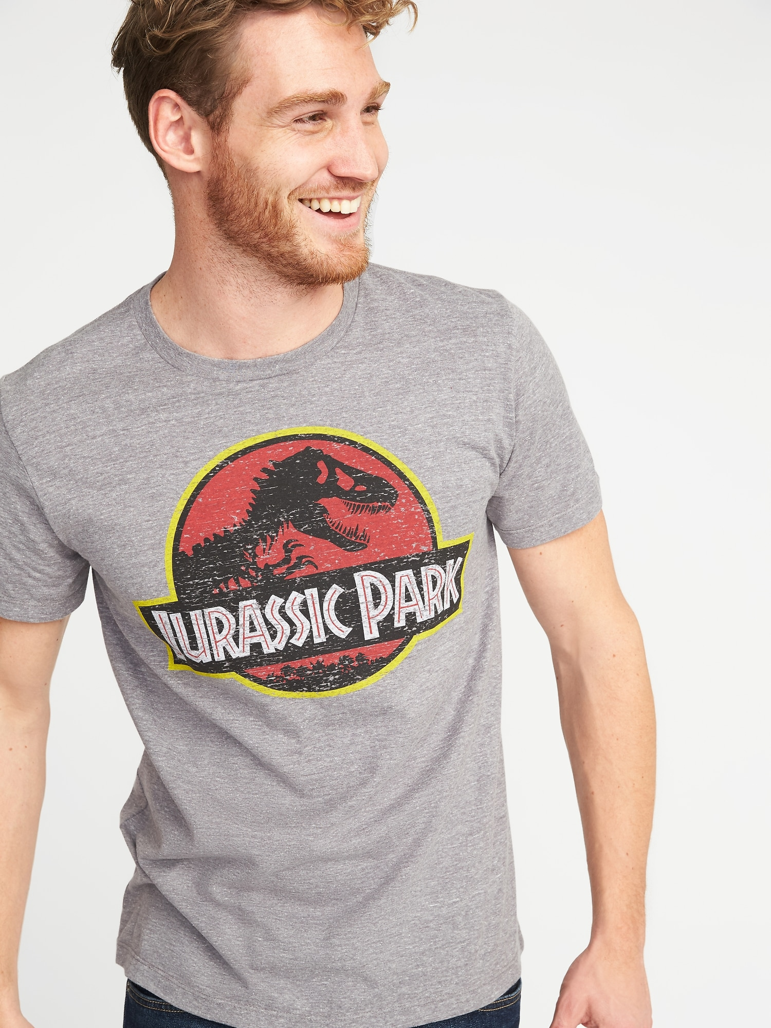 Jurassic Park Graphic Tee For Men Old Navy Jurassic Park T Shirt Mens Graphic Tee Graphic Tees