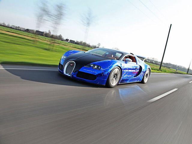 Gemballa Racing's Fast and Furious Bugatti Veyron Sang Noir - It's on lightning paint job corvette, lightning man, lightning ford,