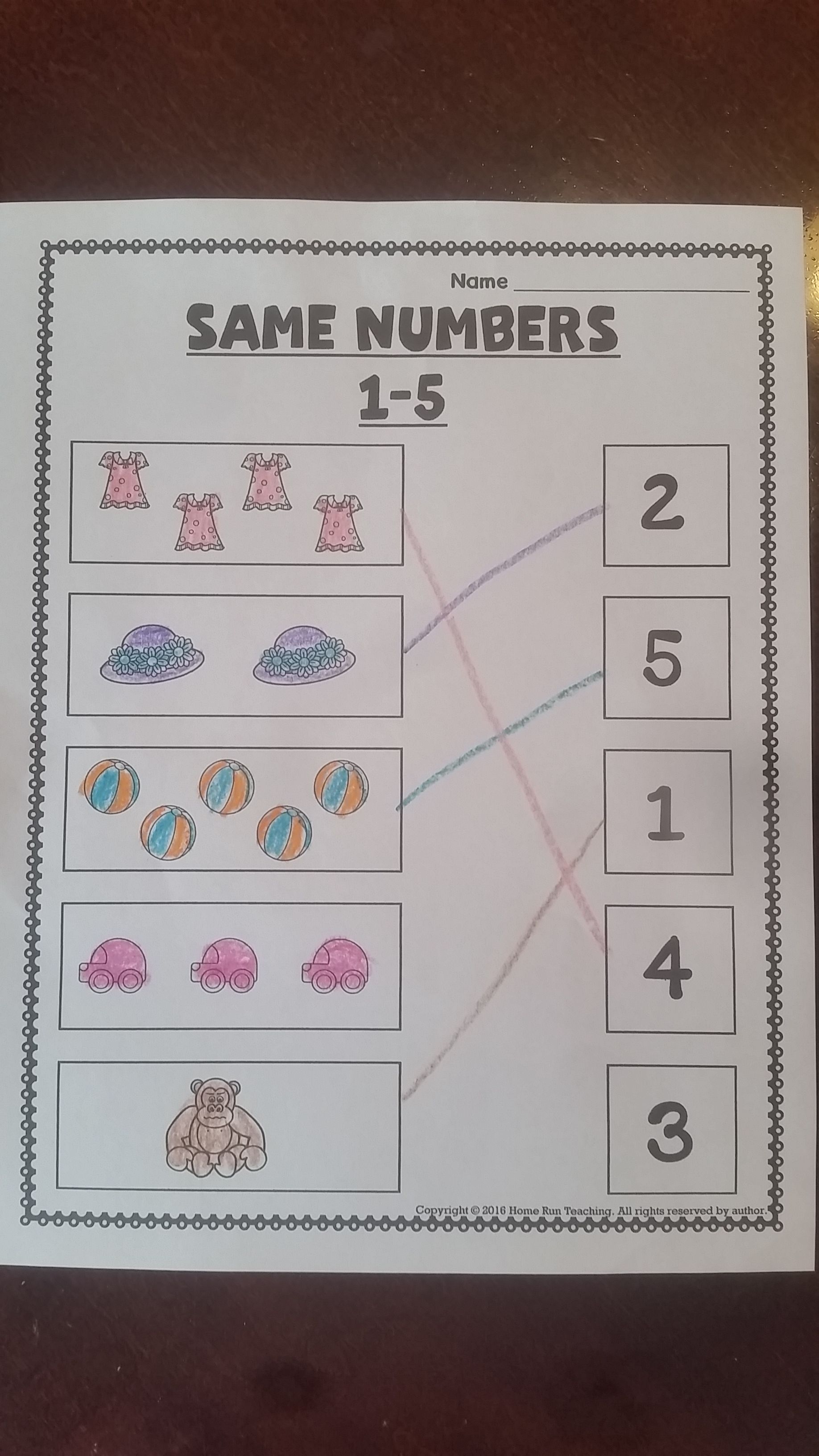 Writing And Identifying Numbers 1 20