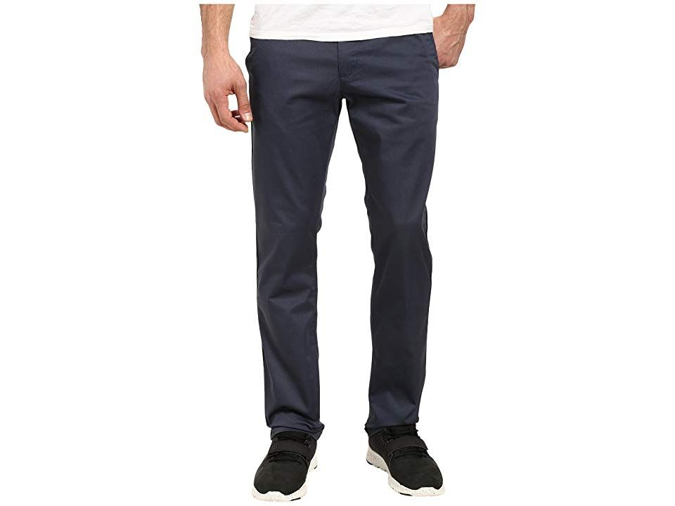 RVCA The WeekEnd Pant Midnight Mens Casual Pants Throw on these awesome RVCA pants and get ready for 48 hours of party time Chino slack pant is crafted from a comfortable...