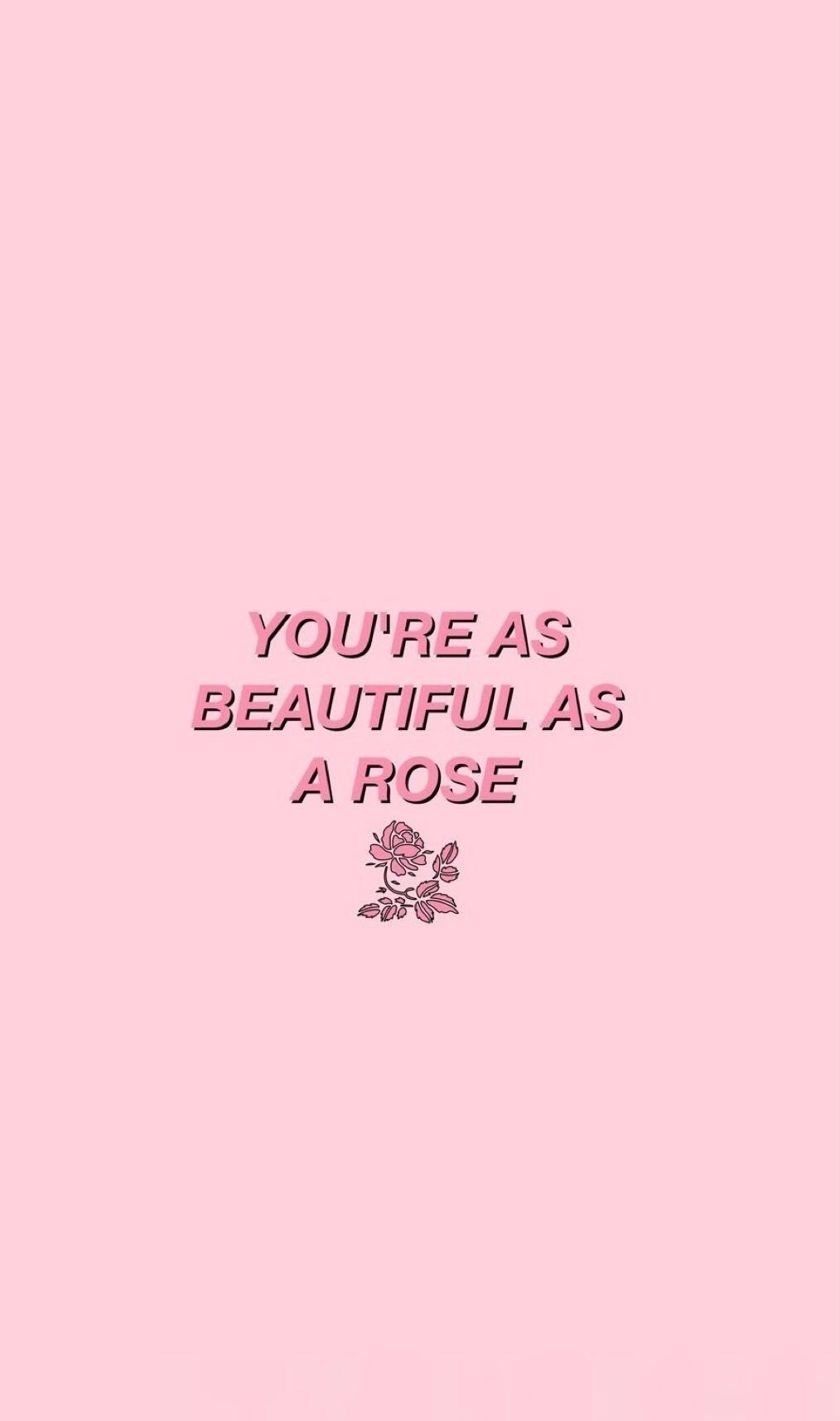 quote pink Pink quotes! Pinterest Wallpaper and