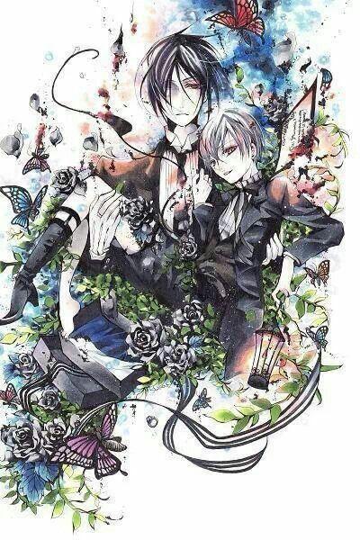 Ciel Phantomhive & Sebastian Michaelis - Kuroshitsuji,Black Butler