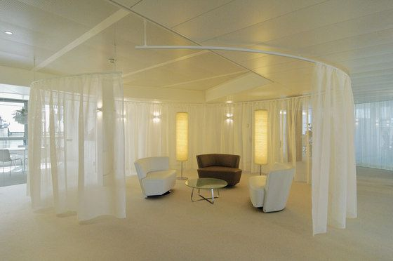 use flexible curtain track to bring innovative ideas to your home, Innenarchitektur ideen