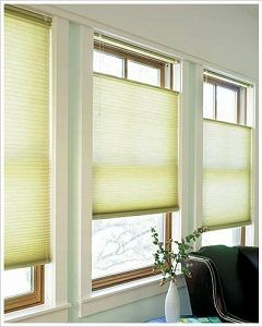Graber Crystal Pleat 3 8 Quot Single Cell Light Filtering