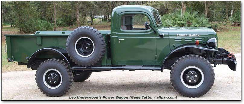Dodge Power Wagon Has A 126 Inch Wheelbase Vintage