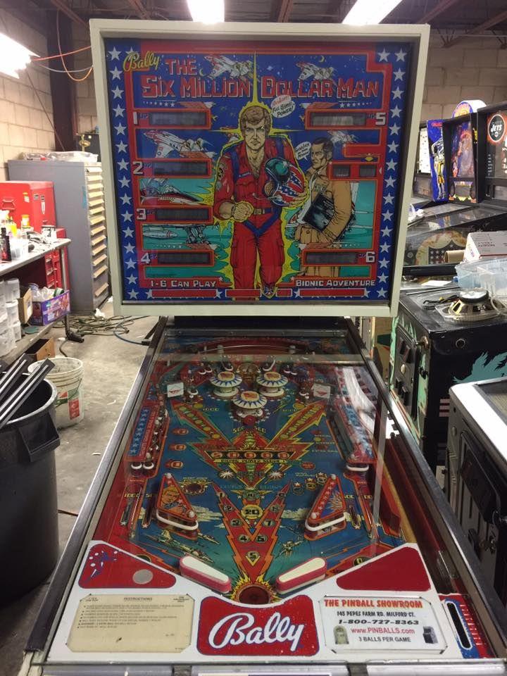 Buy Six Million Dollar Man Pinball Machine For Sale