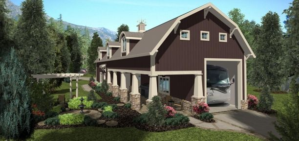 House Shadow Mountain Chalet House Plan - Green Builder House Plans ...