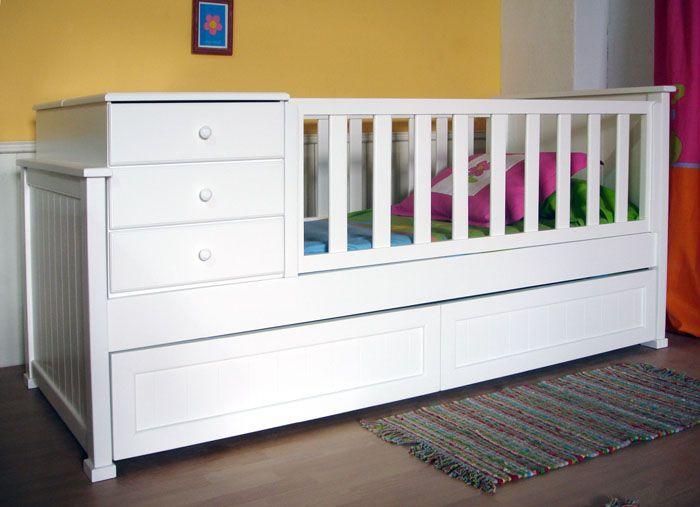 Mesas de noch y cajones completos | Baby stuff | Pinterest | Cama ...