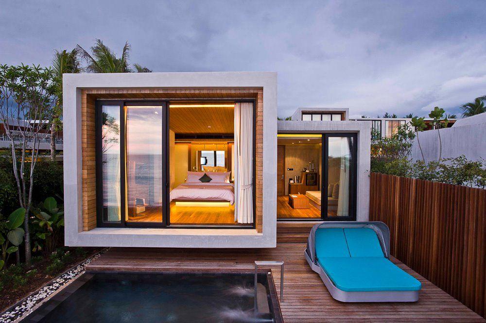 contemporary modern minimalist architecture (Thailand, Casa de La C