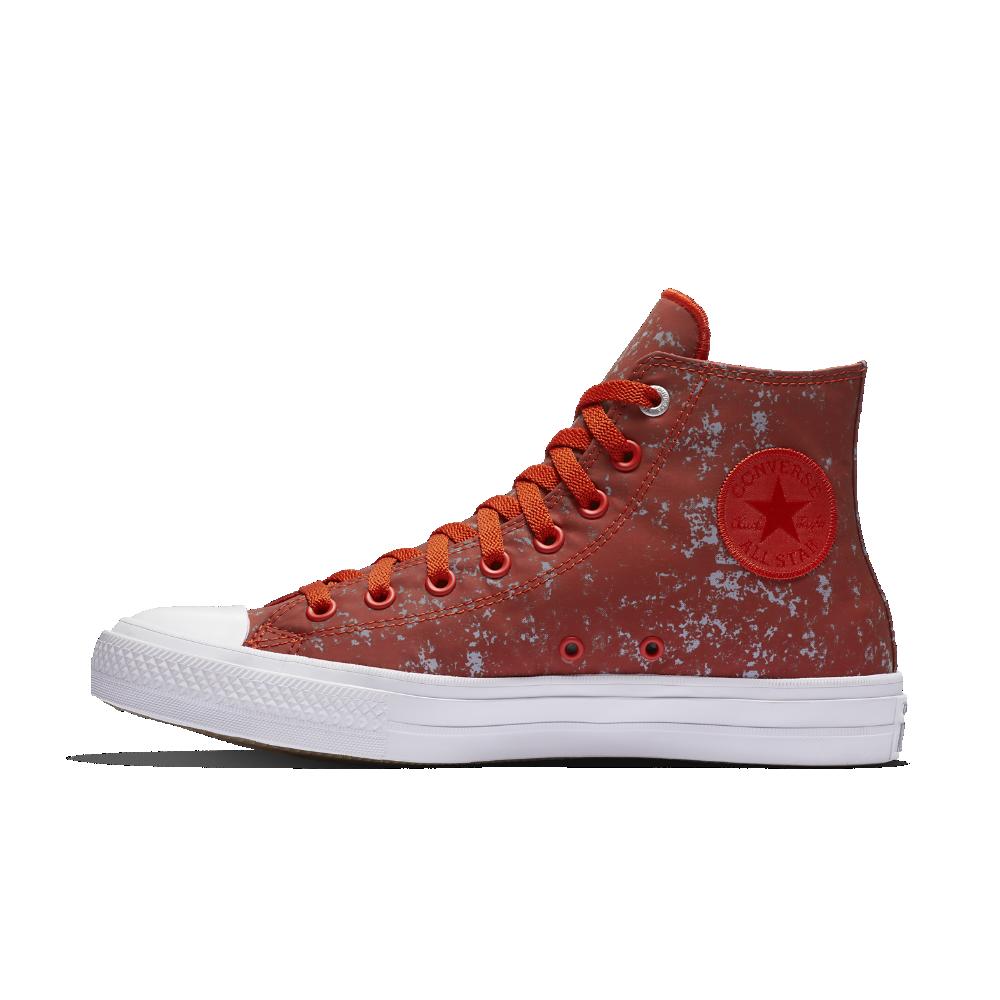 daa7e1a167c5ab Converse Chuck II Reflective Wash High Top Shoe Size 11.5 (Red) - Clearance  Sale