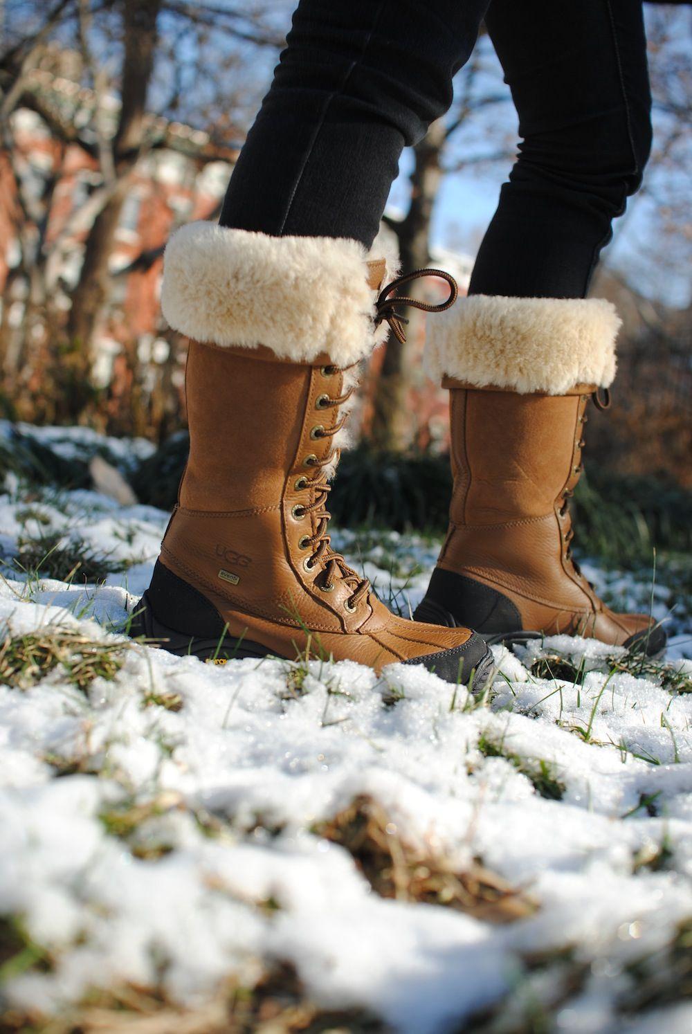 ba665277bee UGG Australia's waterproof full-grain leather sheepskin snow boot ...