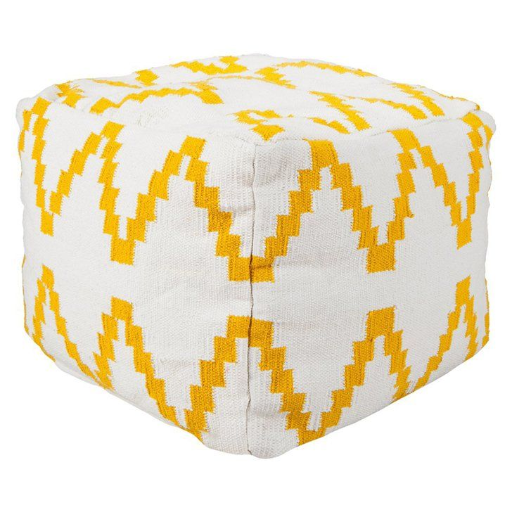 Pin for Later: Why Target's Latest Collection Is a Design-Lover's Dream  Get in on the kilim rug trend by throwing one of these kilim poufs ($56, originally $70) into a room.