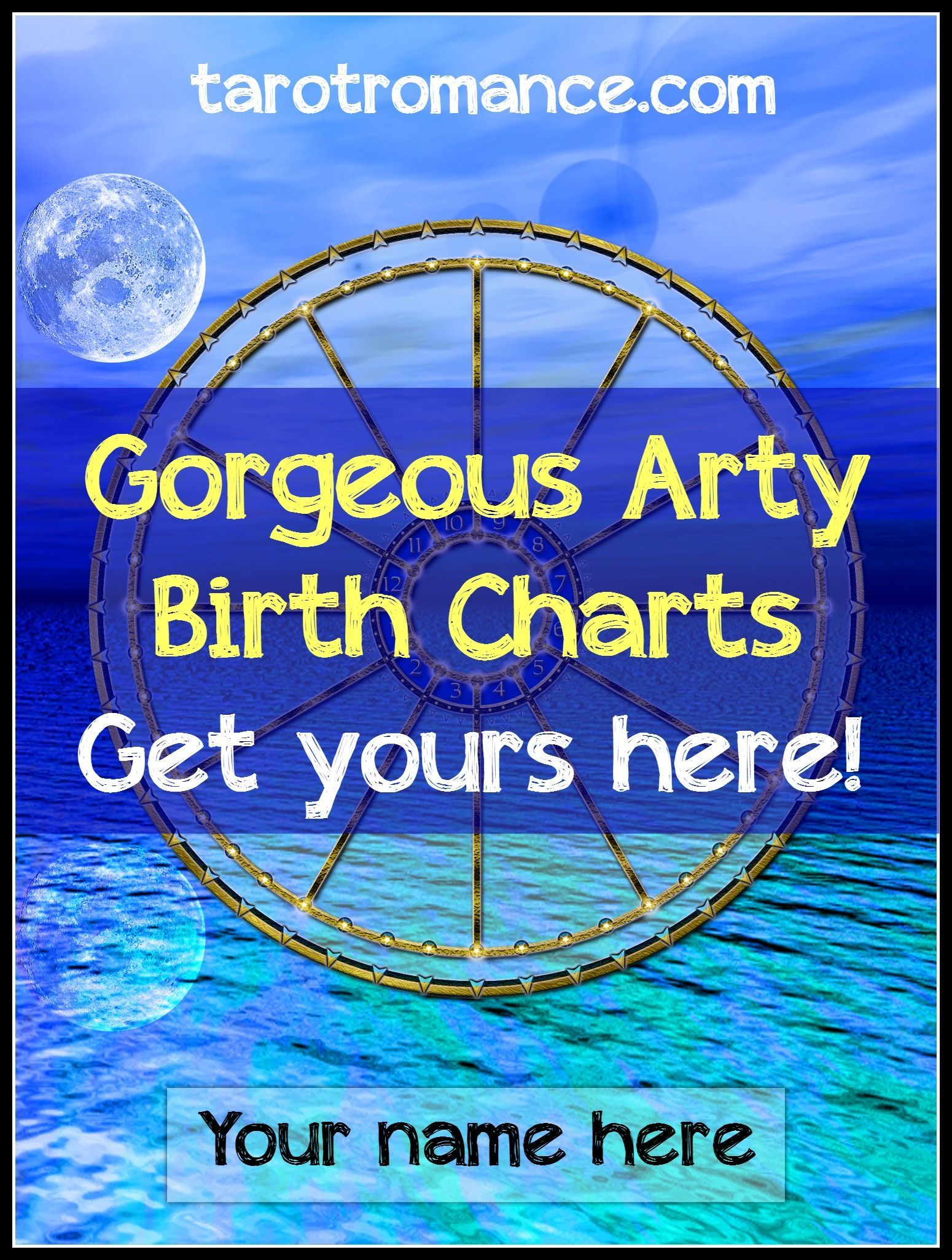 Arty Birth Charts Birth Chart Support Small Business And Birth