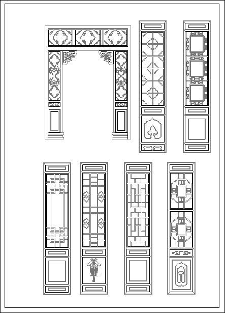 ??Chinese Door?-Cad Drawings Download|CAD Blocks|Urban City Design|Architecture Projects|Architecture Details?Landscape Design|See more about AutoCu2026  sc 1 st  Pinterest & ??Chinese Door?-Cad Drawings Download|CAD Blocks|Urban City ...