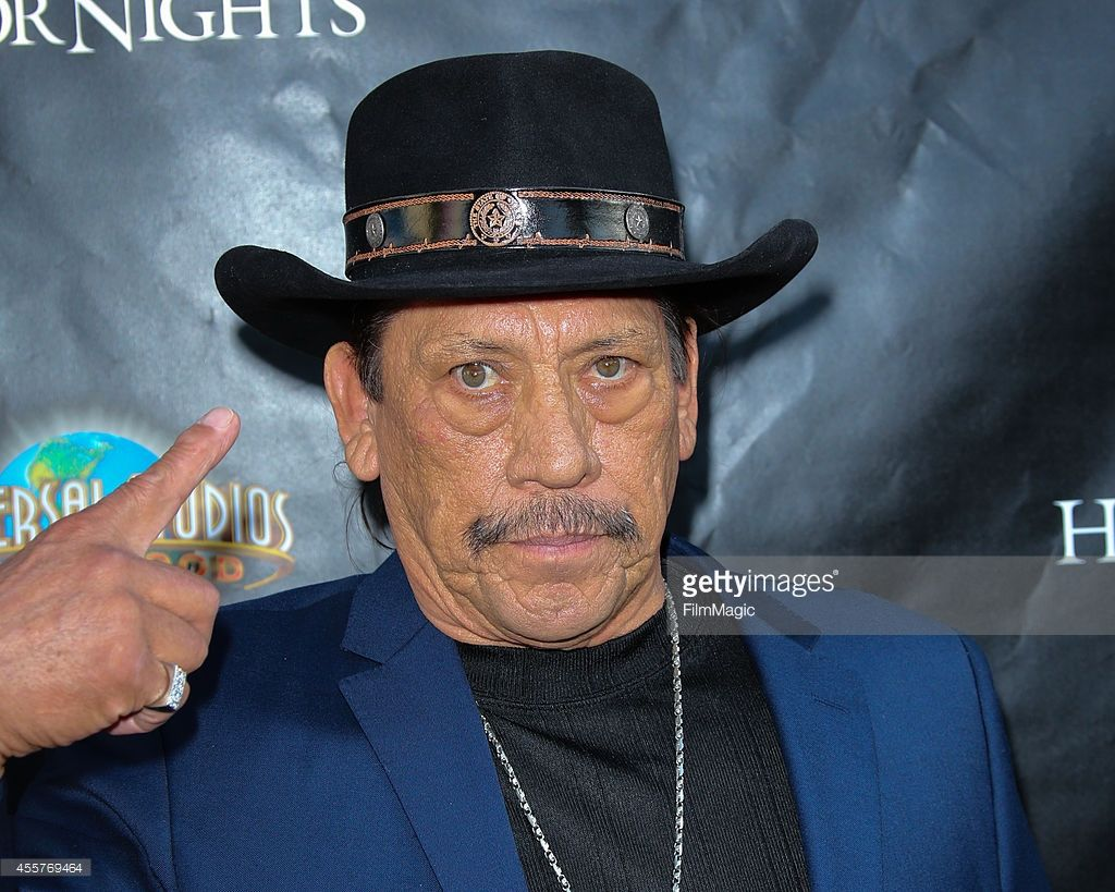 actor danny trejo attends 'halloween horror nights' and the annual