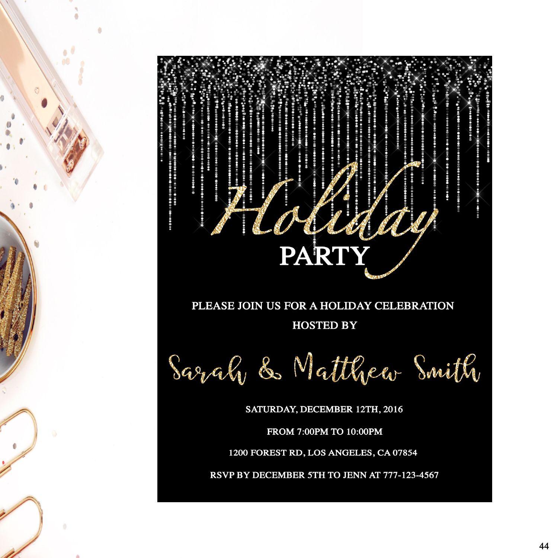 2bcca89221f Holiday party invitation