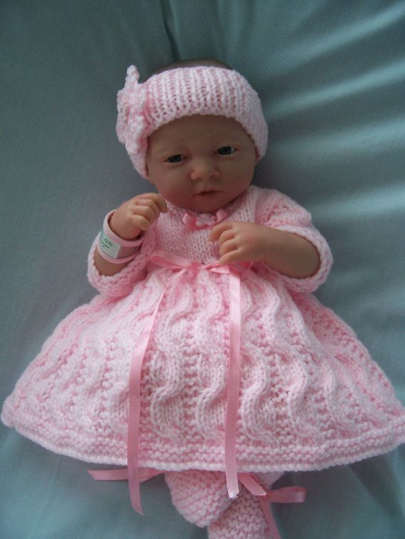Hand Knitted Dolls Clothes Set Dolls Clothes And Etsy