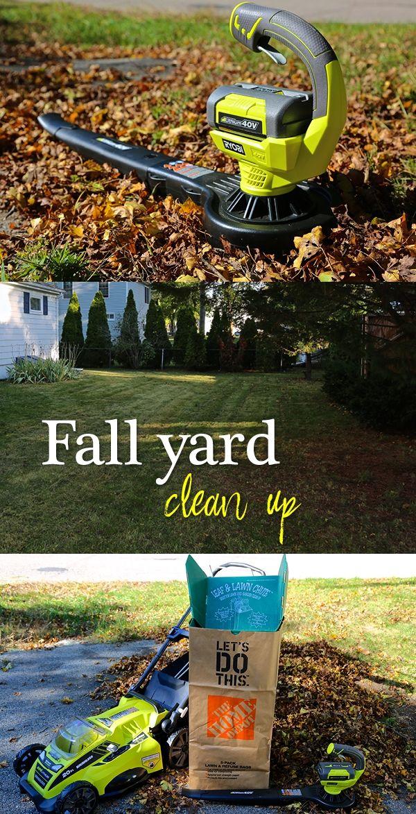 Fall Yard Clean Up Yard Work Yard Leaf Clean Up