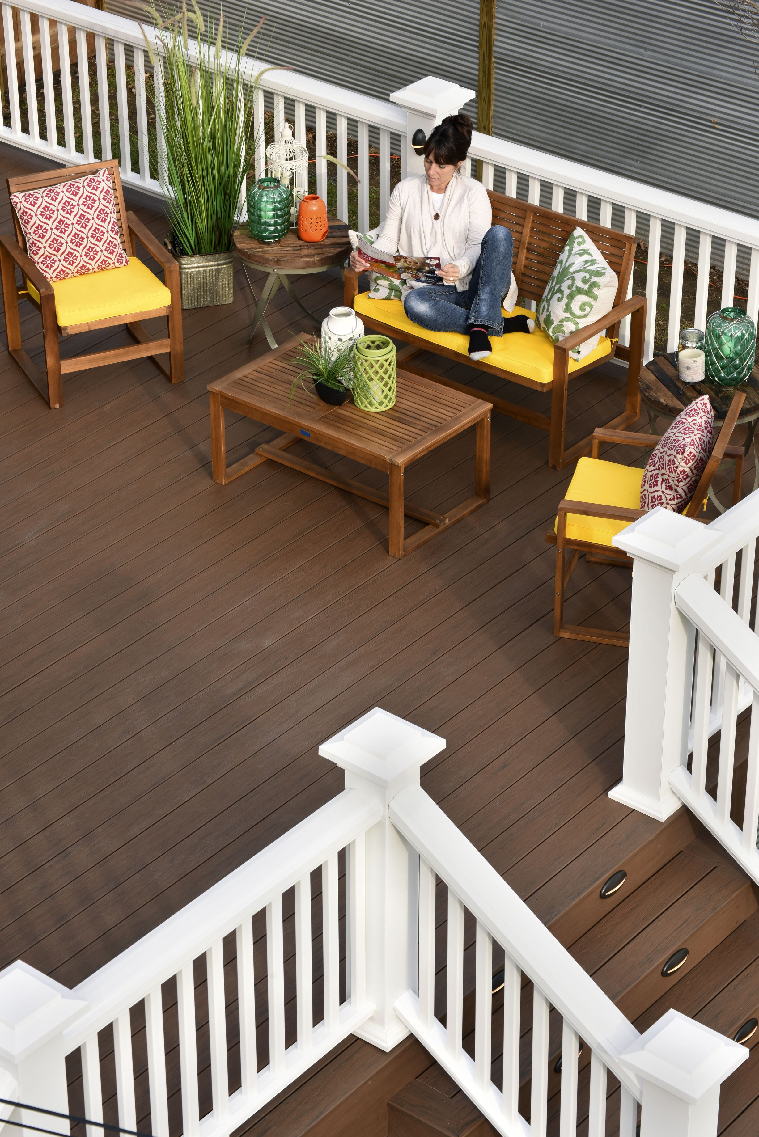 Deck Makeover After Shot Timbertech Tropical Collection