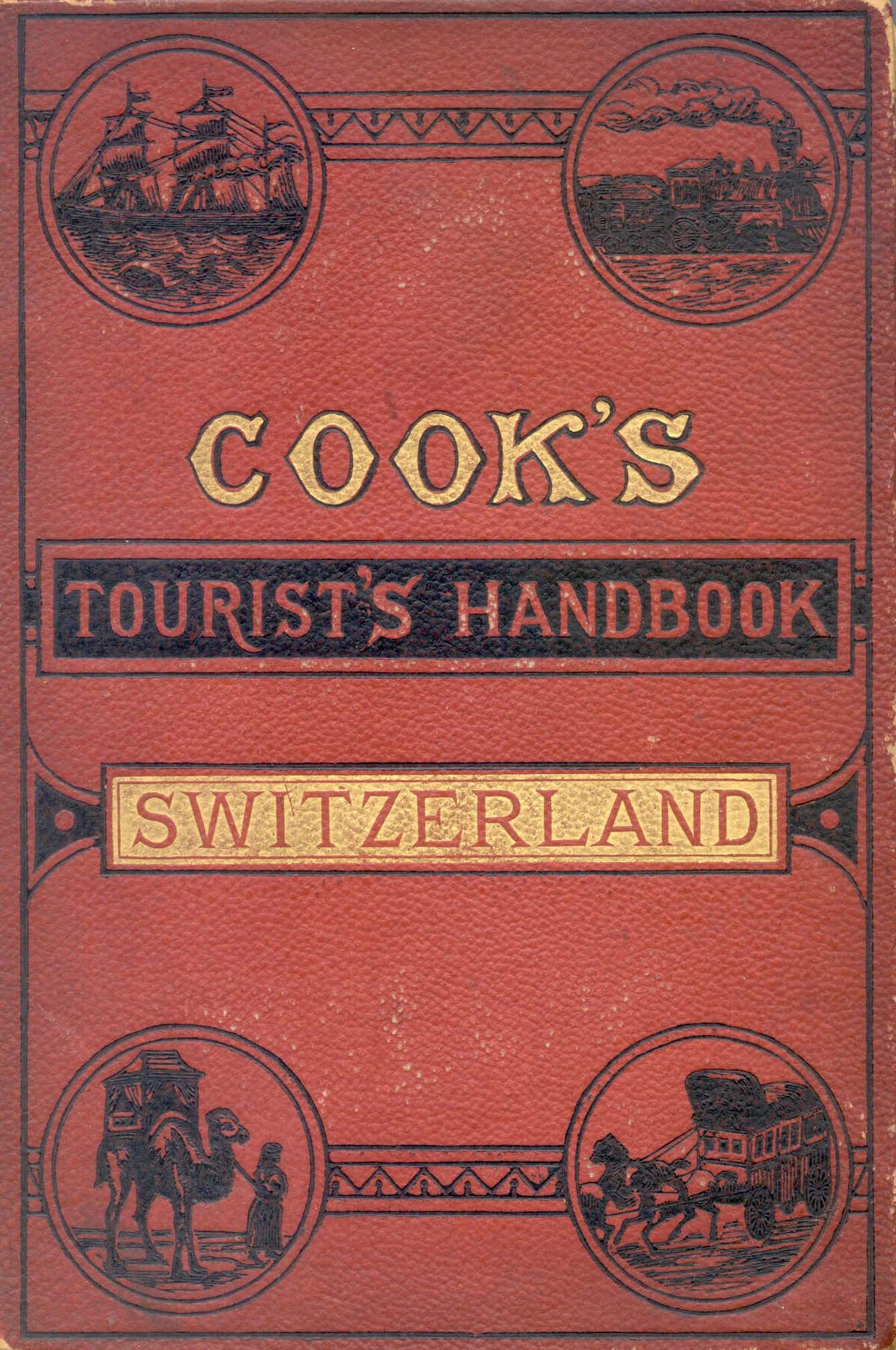Thomas Cook Issued His First Guidebook For Switzerland In 1874 Guide Book Travel Posters Alex And Ani Charms