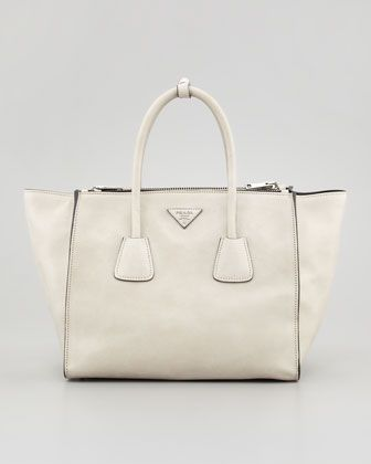 5d50da1184f1 Love this bag! want it in a camel color! Glace+Calf+Twin+Pocket+Tote ...