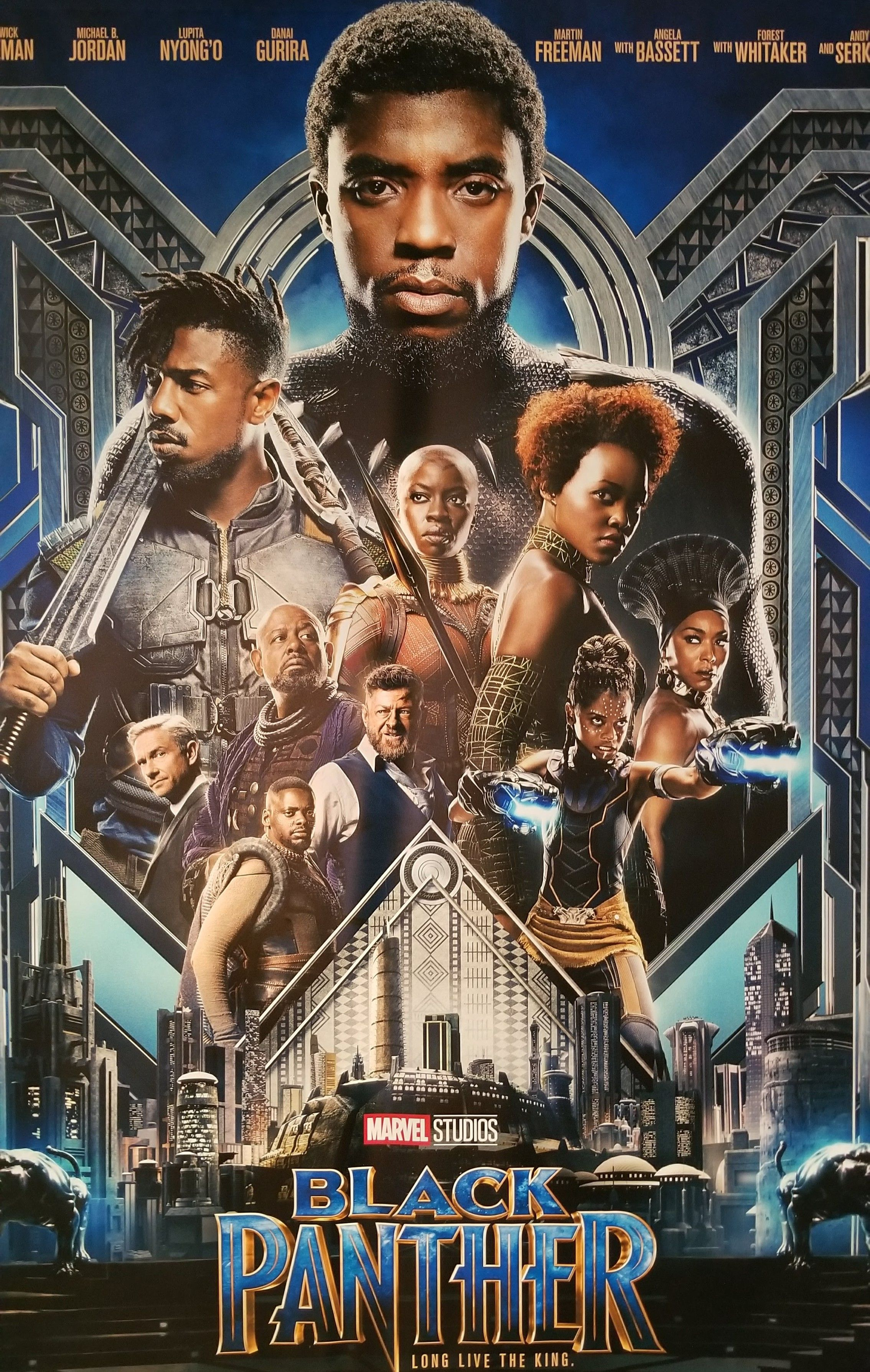 February 2018. Marvel films, Black panther, 2018 movies