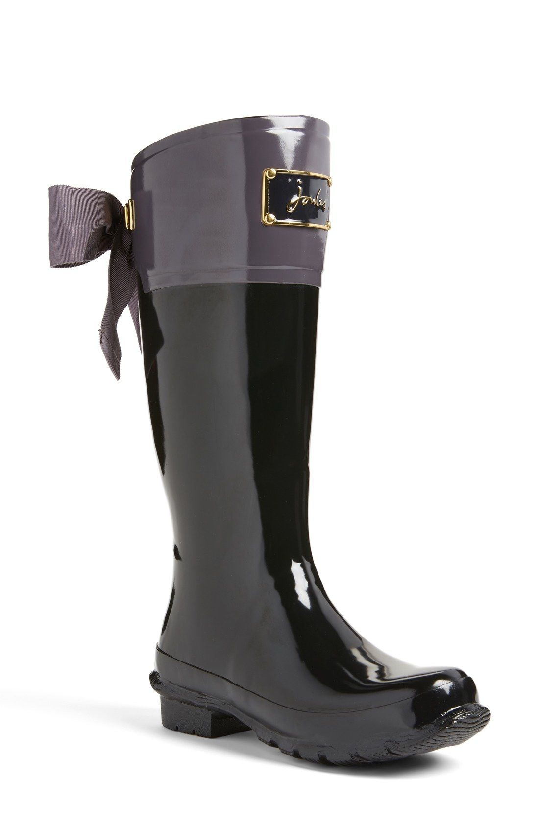 092d485d Free shipping and returns on Joules 'Evedon' Rain Boot (Women) at  Nordstrom.com. A darling fitted rain boot features an embossed enamel  signature plate and ...