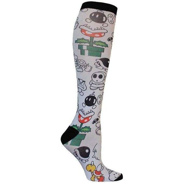 Hot Pink Knee-High Crew Socks | [[Socks & Leggings]] | Pinterest ❤ liked on Polyvore featuring intimates, hosiery, socks, crew length socks, hot pink socks, knee-high socks, hot pink crew socks and knee high hosiery