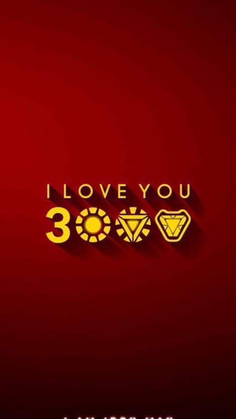 I Love You 3000 Iron Man Iphone Wallpaper Iphone Iron Love