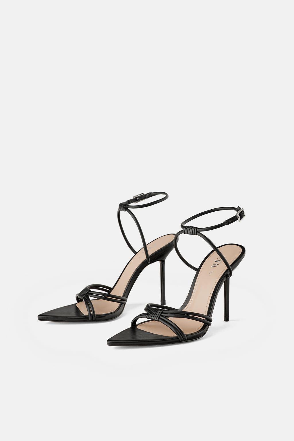 6d70af376 HIGH HEELED STRAPPY SANDALS - DRESS TIME-WOMAN-CORNER SHOPS