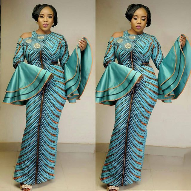 Super Classy Ankara Long Gown Styles for Every Lady to Slay Happily ...