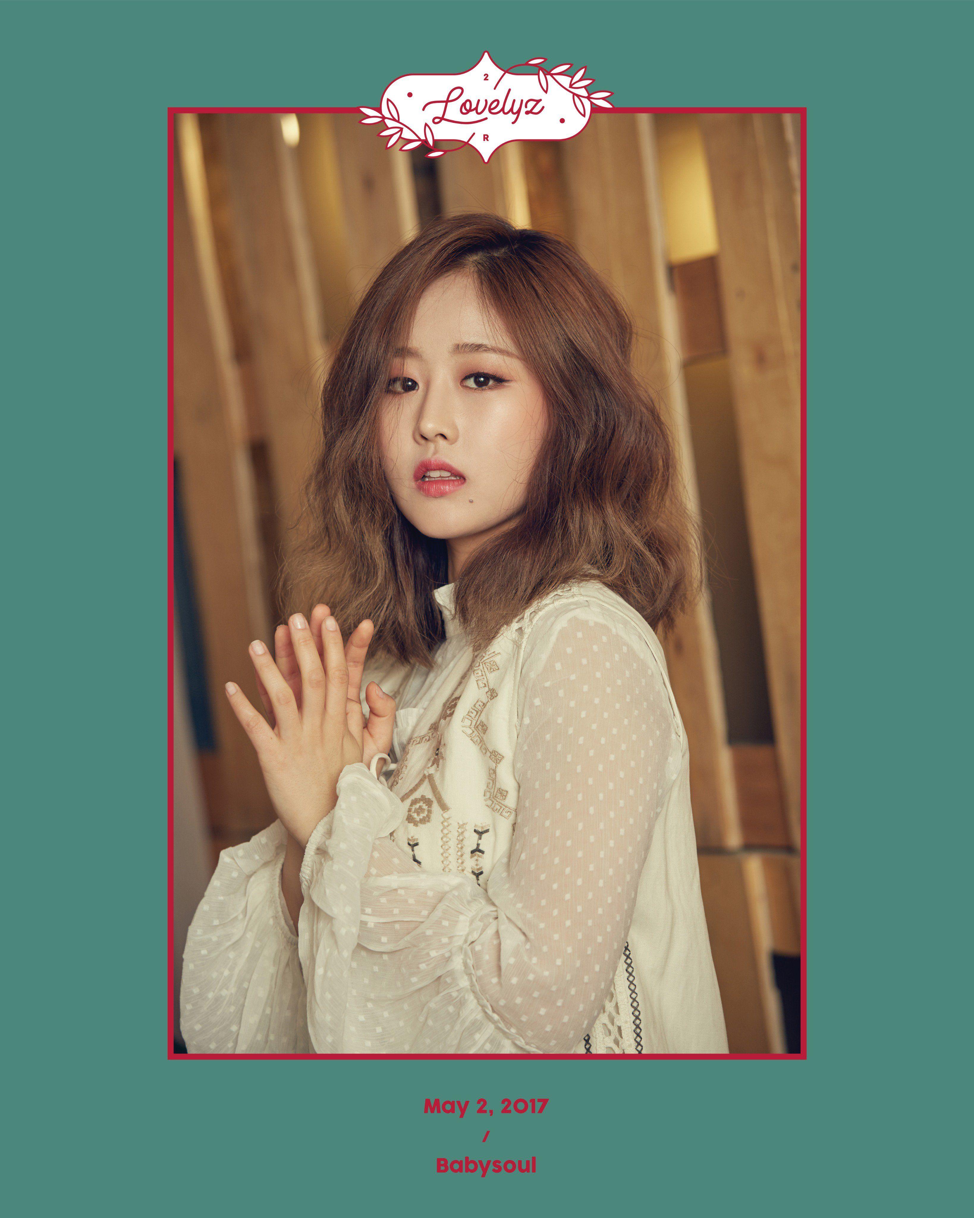 Lovelyz 2nd Album Repackage teaser image - Baby Soul