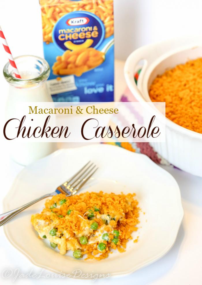 Kraft Macaroni Cheese Chicken Casserole