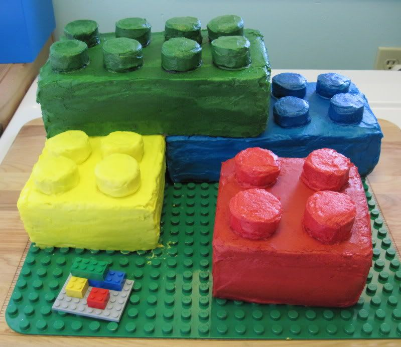 Building Blocks Cakes Recipe Lego and Cake