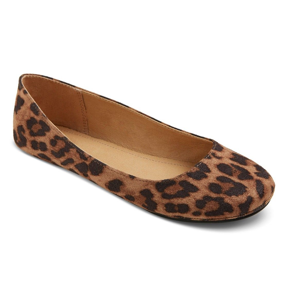 66fbb2b745d2 Women's Odell Ballet Flats @ Target Don't know why but I have a 'thing' for animal  print flats ♡ now just need the right size