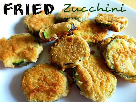 how to make deep fried zucchini