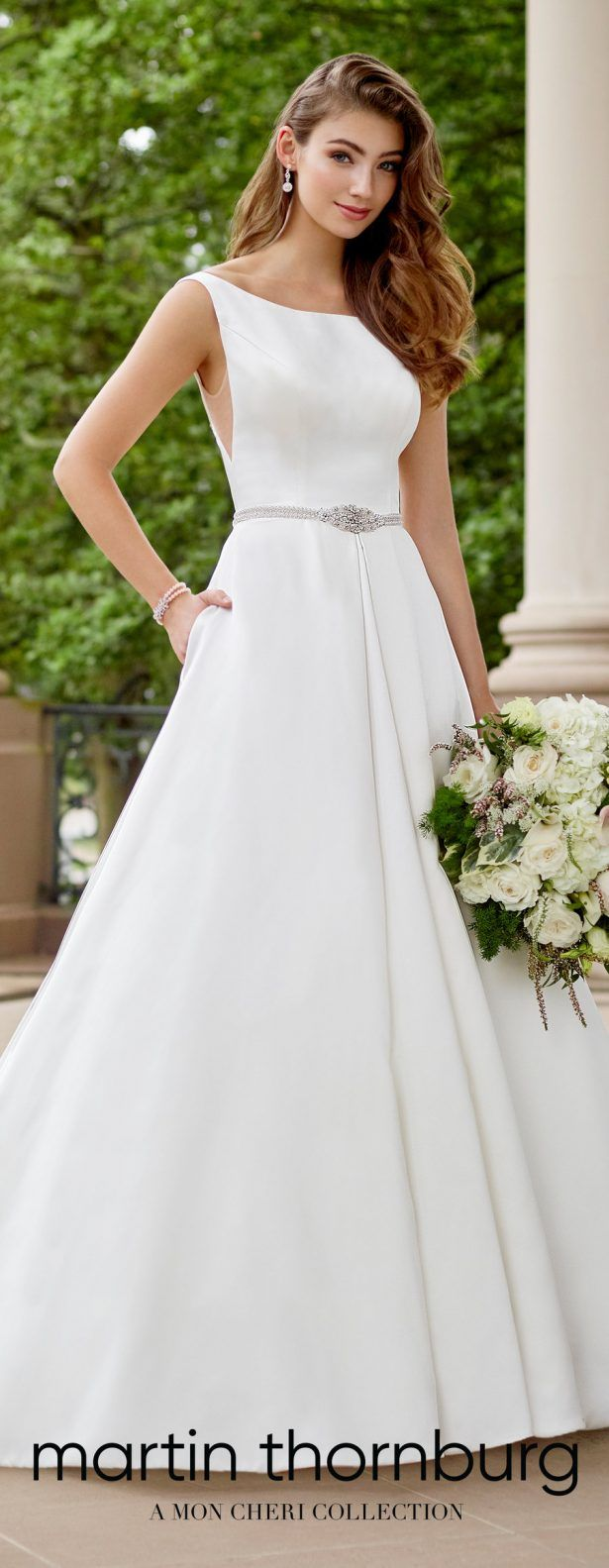 Dresses for wedding reception for bride  World Exclusive Wedding Dresses Spring  by Martin Thornburg a