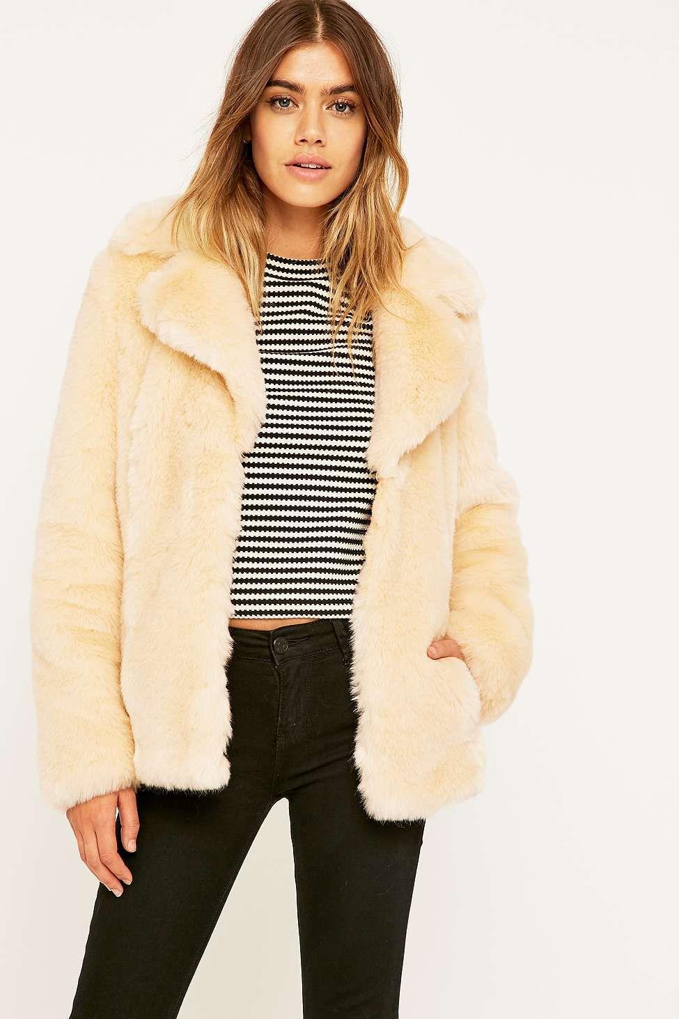 Jakke Charlie Cream Coat