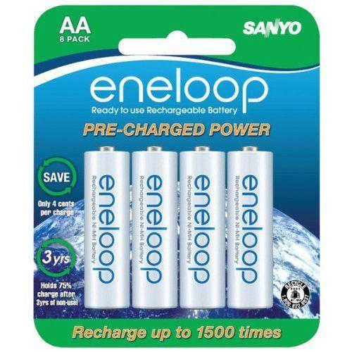 Awm Sanyo Sec Hr3u8bpn Eneloop Battery Blister Pack Aa 8 Pk Aa Batteries By Awm 28 99 Sanyo Sec Hr3u8bpn Enel Sanyo Rechargeable Batteries Solar Lights