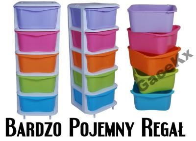 Plastikowy Regal Na Kolkach Szafka Szuflady Szafa 5689240300 Oficjalne Archiwum Allegro Glassware Plastic Cup Tableware