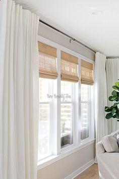 Photo of #BudgetFriendly #Living #rideau fenetre #room #Treatments