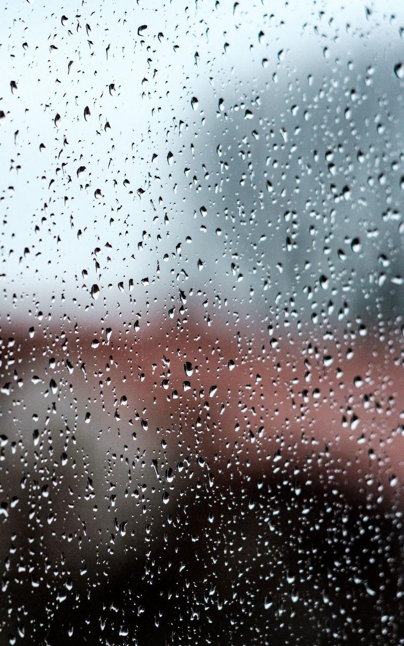 Wallpaper Glass Drops Blur Macro Rain Rain Wallpapers Glass Drop Wallpaper