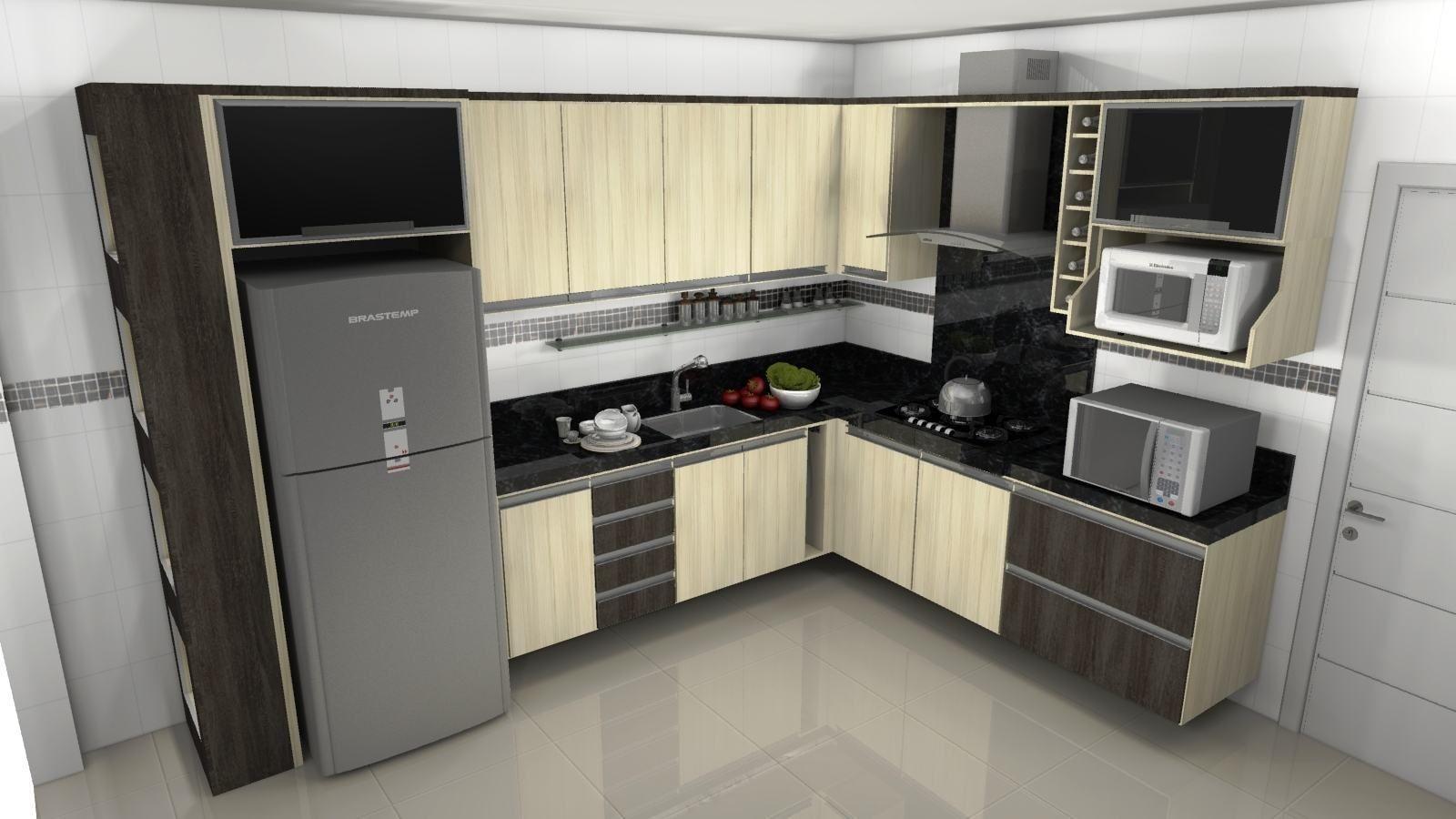 Cozinha Planejada Pequena Cozinha Planejada Ital Nea Pequena