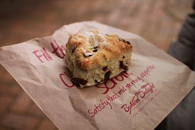 ...and also a baker's delight date scone.