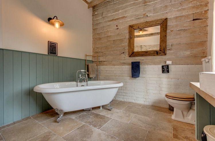 Salle de bain rustique 100 idées déco salle de bain